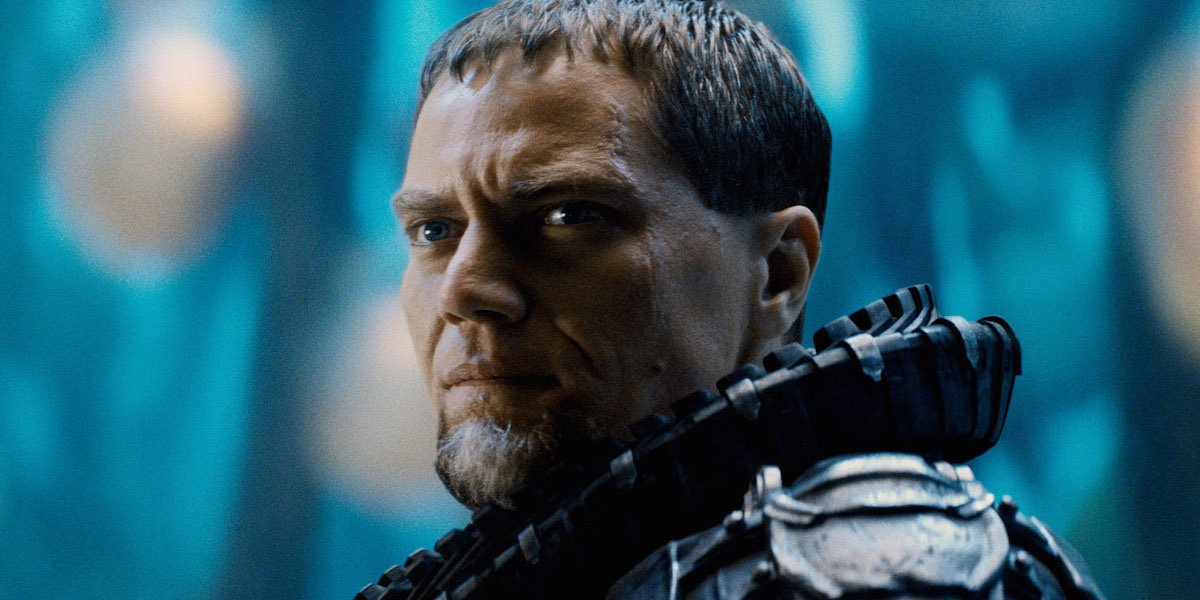 Michael Shannon is Zod in Man of STeel
