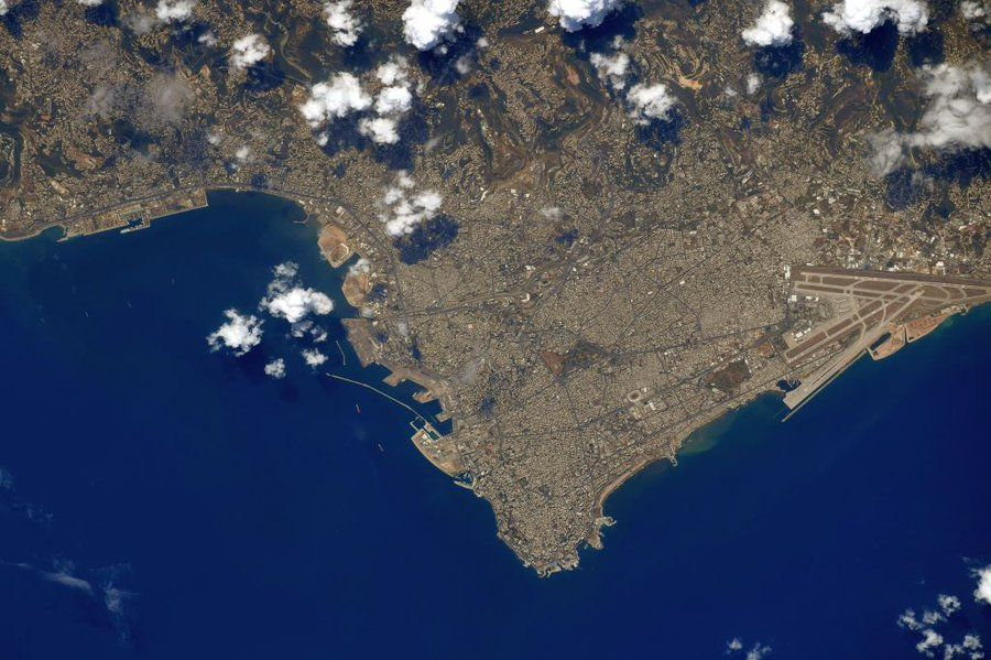 NASA astronaut mourns Beirut blast victims from space - Space.com