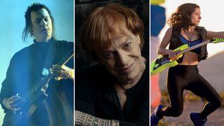 [L-R] Robin Finck, Danny Elfman and Nili Brosh