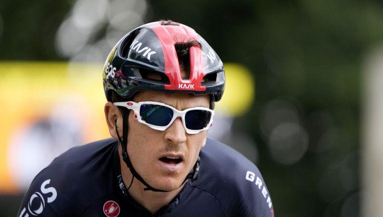 Geraint Thomas on stage four of the Tour de France 2021