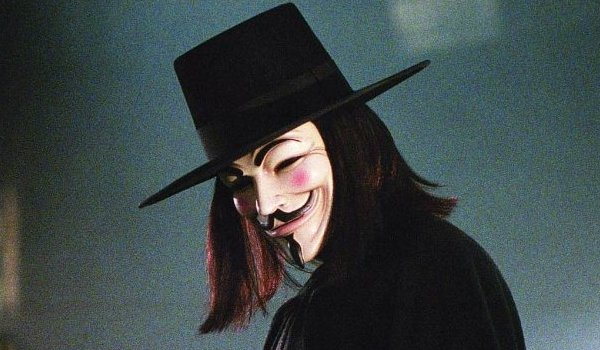 V For Vendetta V in a dark alley