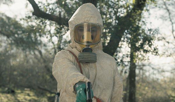 fear the walking dead karen david's grace inside hazmat suit