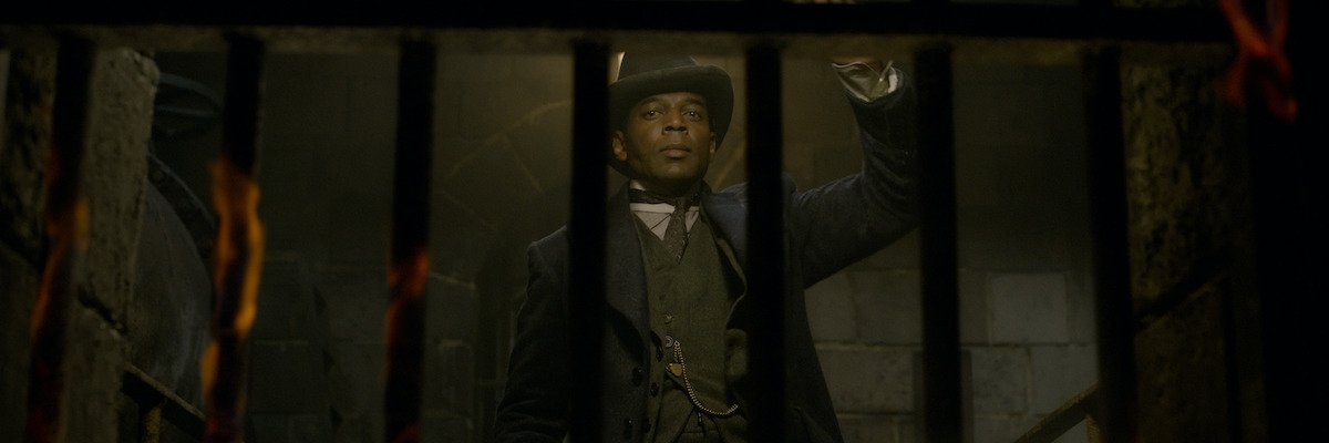 William Nadylam in Fantastic Beasts: The Crimes of Grindelwald
