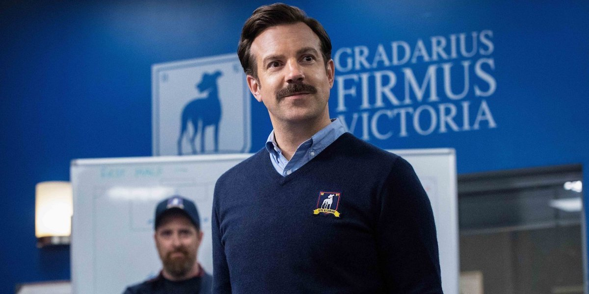 Jason Sudeikis is Ted Lasso