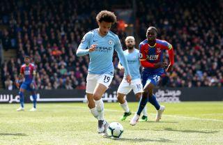 Crystal Palace v Manchester City – Premier League – Selhurst Park