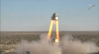 Boeing conducted a pad abort test of its CST-100 Starliner crew capsule on Nov. 4, 2019, at the White Sands Missile Range in New Mexico.