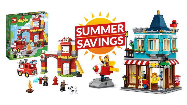 Lego deals summer savings