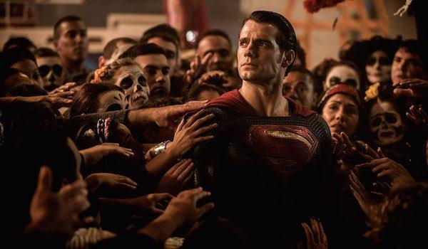 Superman at Dia de los Muertos celebration in Batman v Superman