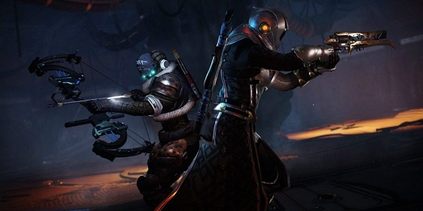 Guardians battle through The Dreaming City in Destiny 2.