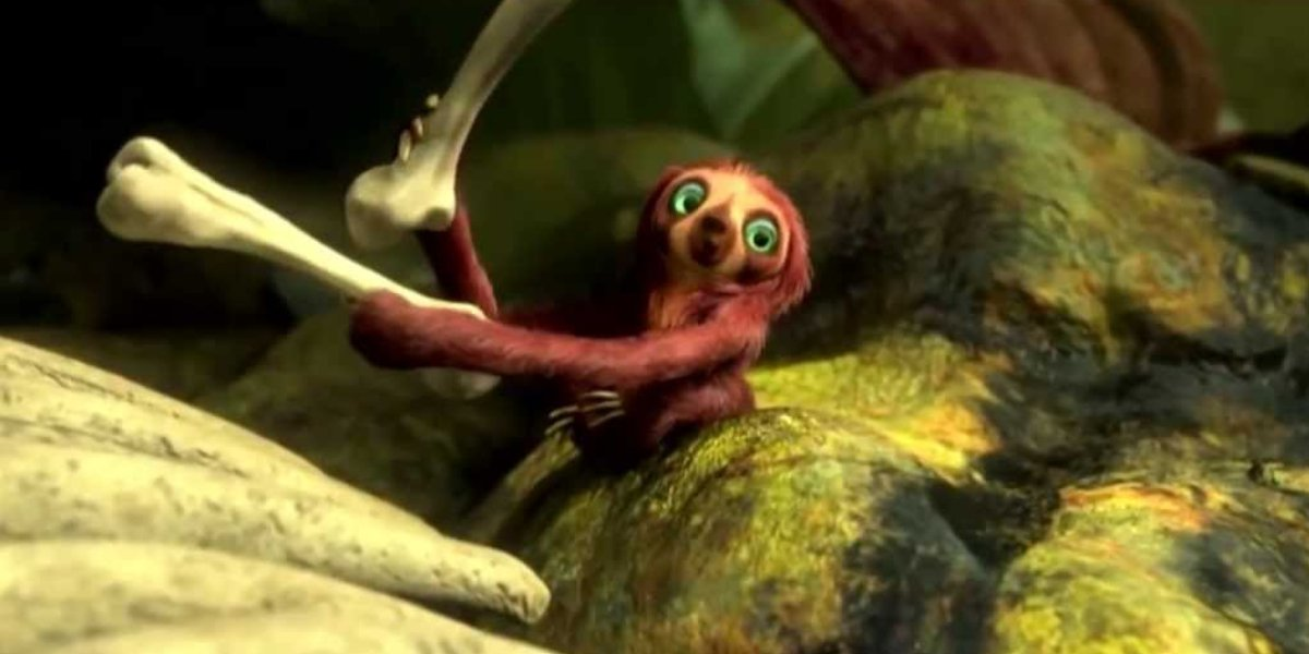 Chris Sanders as Belt in The Croods
