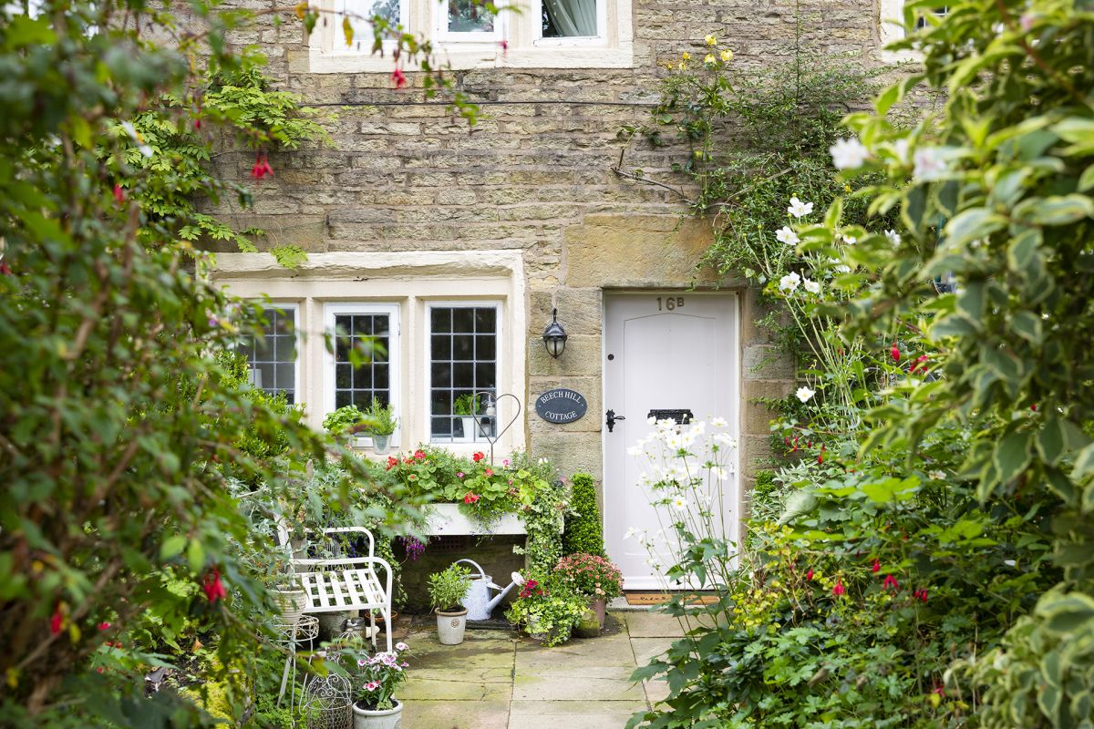 This listed Yorkshire cottage is full of pretty country charm – take the tour