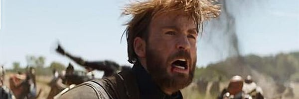 Chris Evans' Wild Hair in Avengers: Infinity War