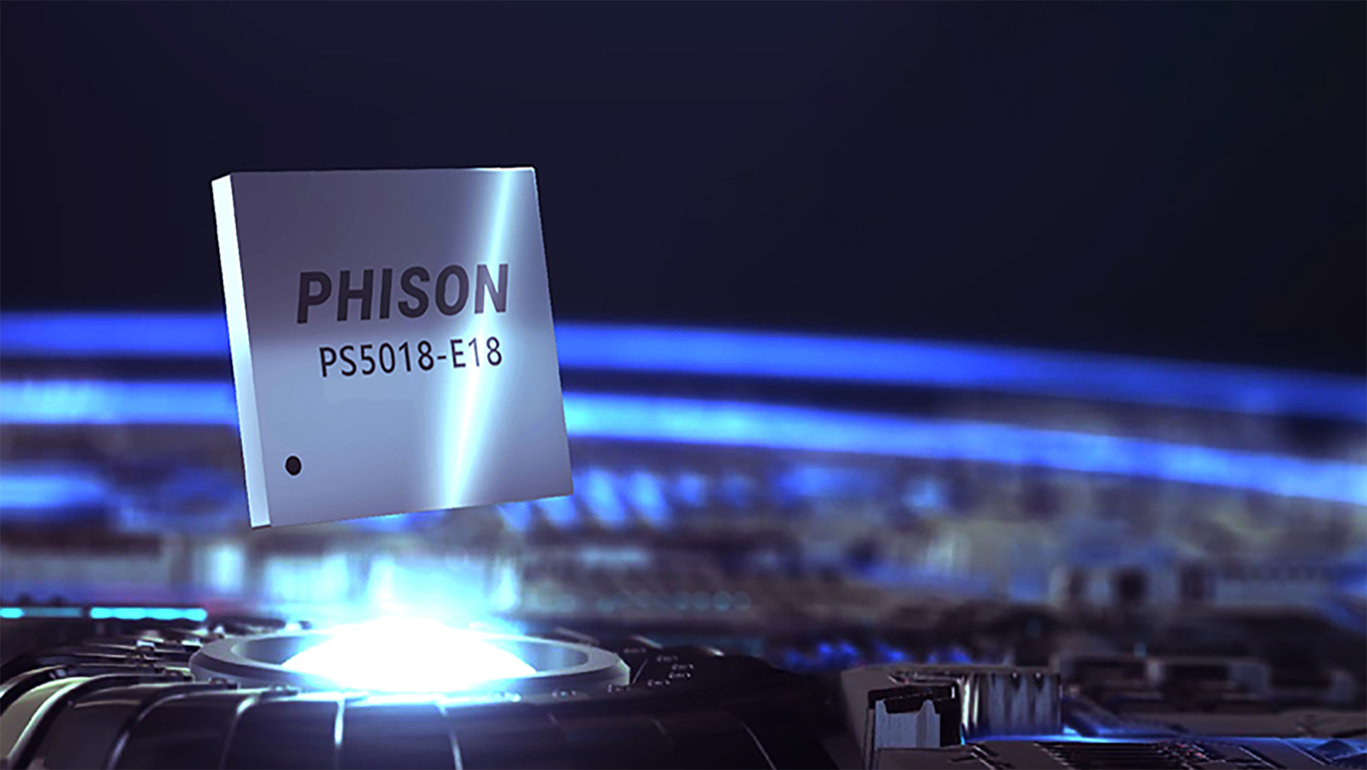 Phison's new SSD controller means we're already close to the limits of PCIe 4.0 speed