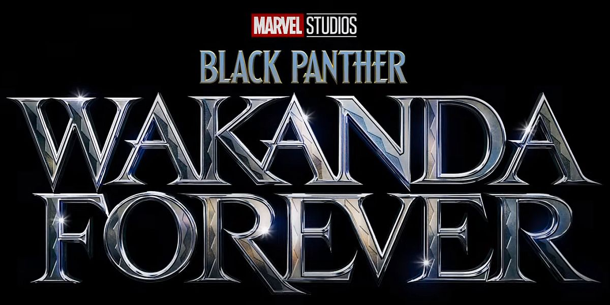 Black Panther: Wakanda Forever title card