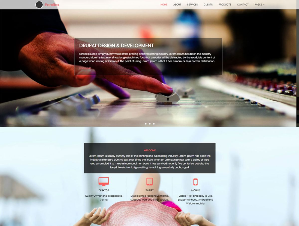 The 20 best Drupal themes | Creative Bloq