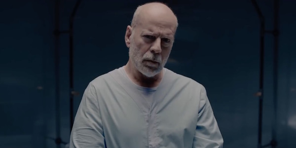 Bruce Willis as David Dunn in Glass
