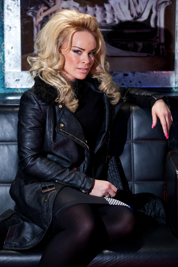 Grace Black is played by Tamara Wall in Hollyoaks