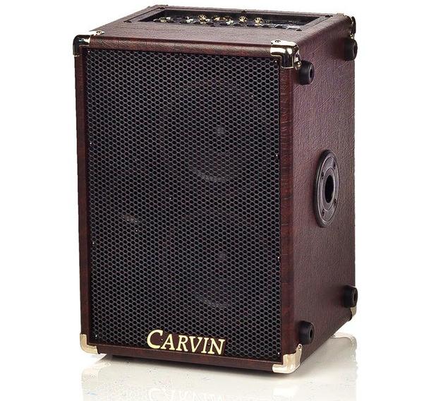 review carvin amplifiers ag200 acoustic guitar amp video guitarworld. Black Bedroom Furniture Sets. Home Design Ideas