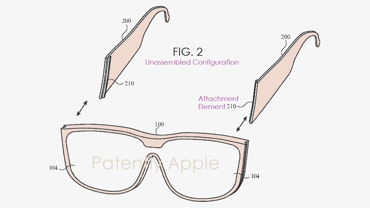 Apple Glasses patent