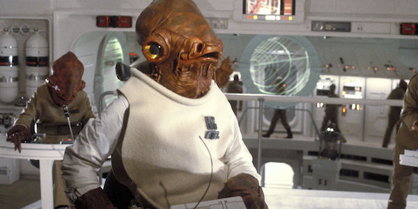 Admiral Akbar during The Return of the Jedi