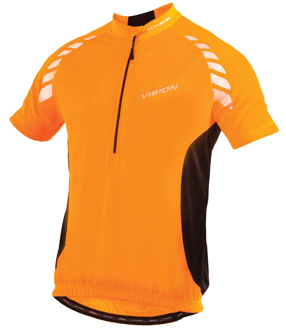 Nigh Vision SS Jersey Orange Front