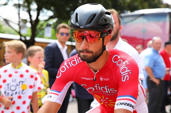 Nacer Bouhanni (Cofidis) with his game face on