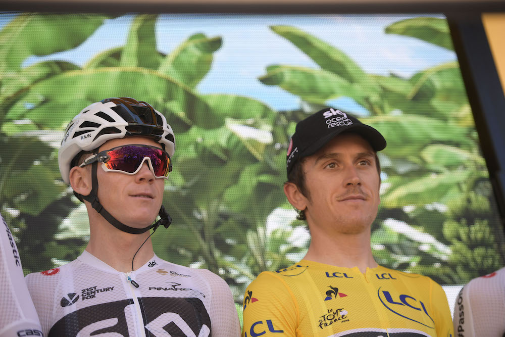Geraint Thomas and Chris Froome set for dual Tour de France tilt - Cycling Weekly