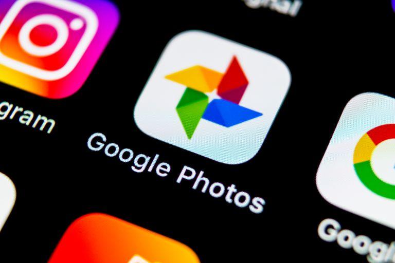 Google Photos stock