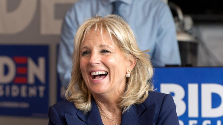 Jill Biden has showcased her elegant cursive in a recent interview about her job as a college professor