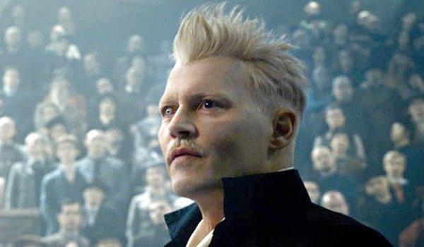 Johnny Depp as Gellert Grindelwald