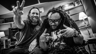 Reef's Gary Stringer and Skindred frontman Benji Webbe