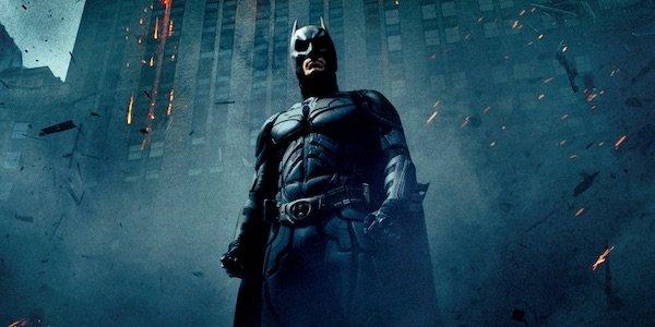 Batman poster for Dark Night Rises