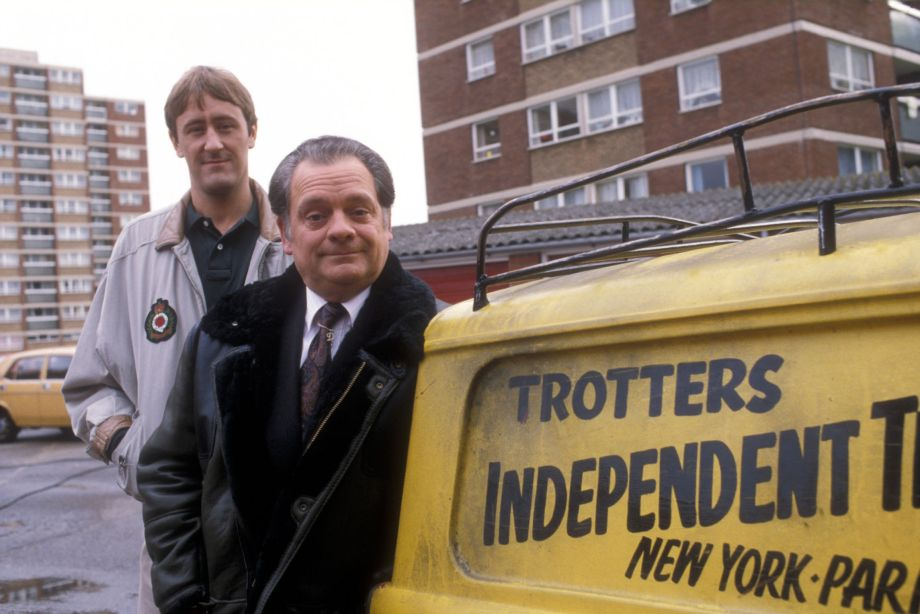 Only Fools and Horses Del and Rodney