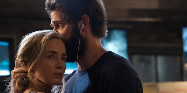 Emily Blunt and John Krasinski in A Quiet Place