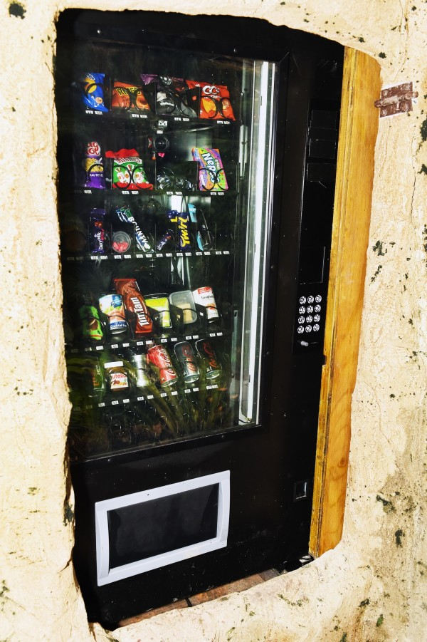 I'm A Celebrity's vending machine