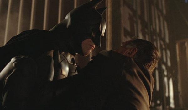Batman Begins Docks Scene