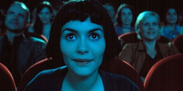 Amelie in movie theater
