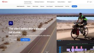 Adobe Premiere Pro Website