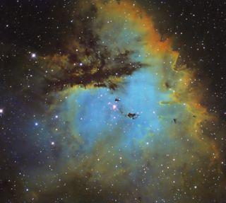 Pacman Nebula by Steve Coates