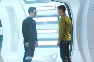 "Extended Cast From film ""Star Trek Into Darkness."""