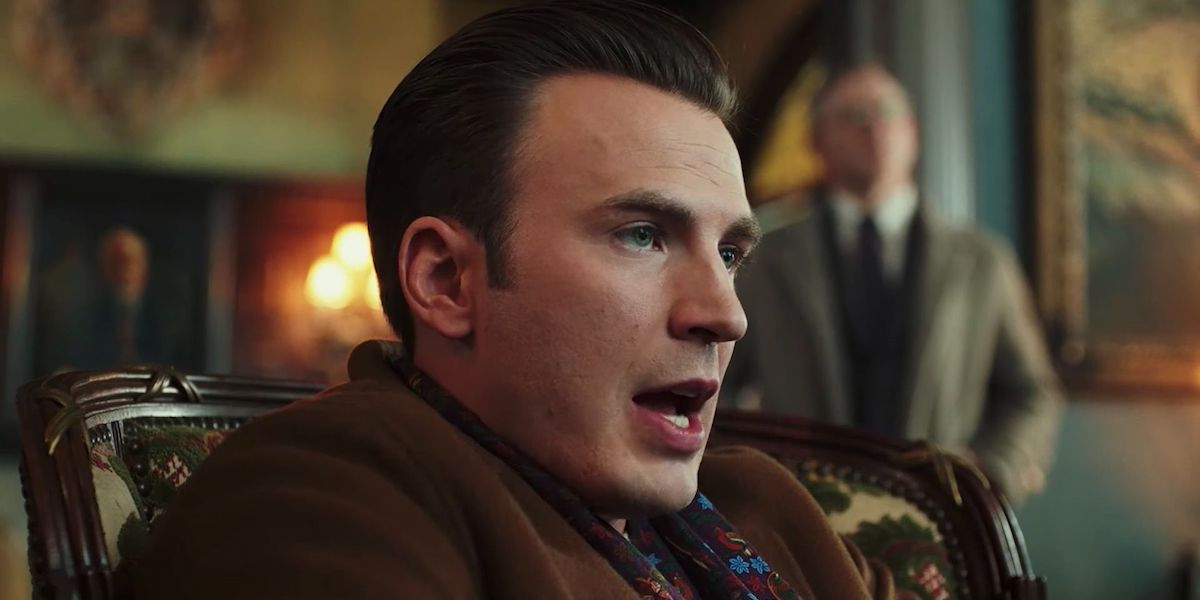 Chris Evans in Knives Out