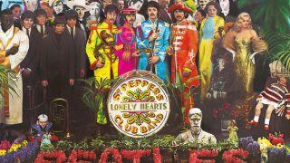 Sgt Pepper cover art