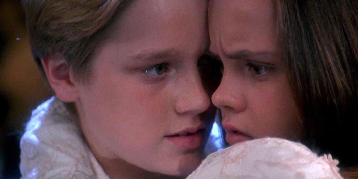 Devon Sawa and Christina Ricci in Casper