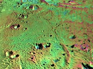 Icy Volcanoes Likely Shape Saturn's Smooth Moon