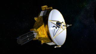 Artist's impression of NASA's New Horizons spacecraft.