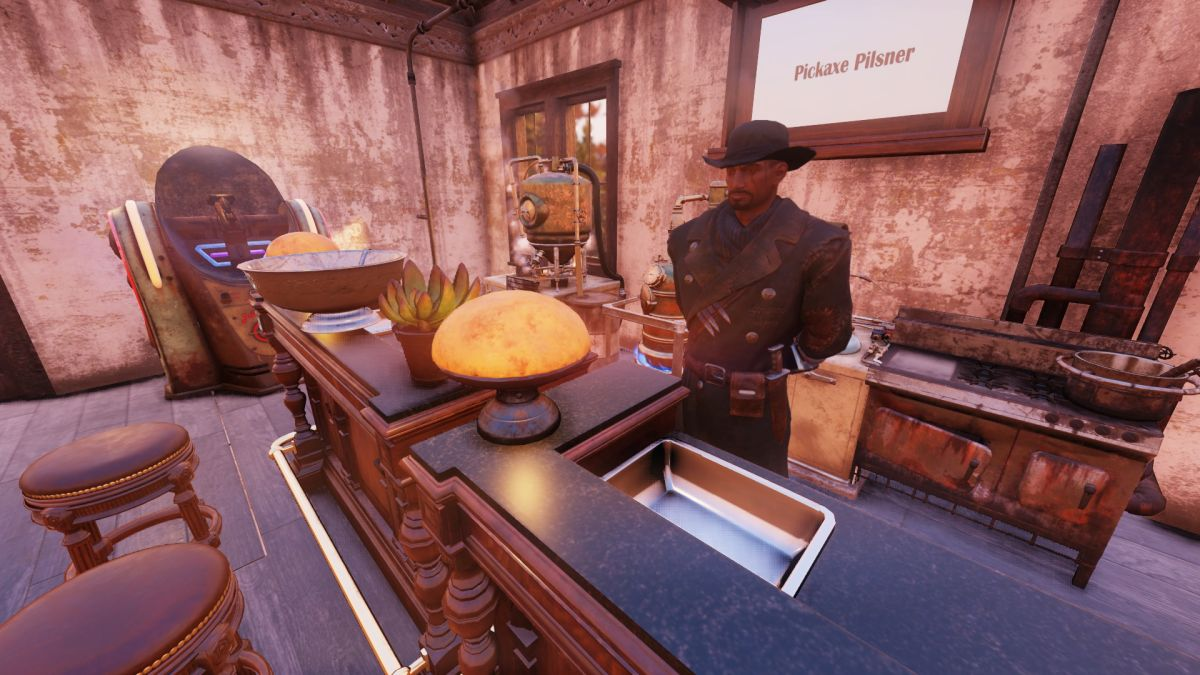 This Fallout 76 player built a 'looking for group' hub outside the upcoming raid