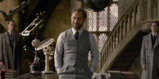 Jude Law as Dumbledore in Fantastic Beasts: The Crimes of Grindelwald