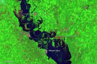 Missouri River floods 2011