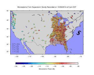 Hurricane Sandy shakes the US like an earthquake