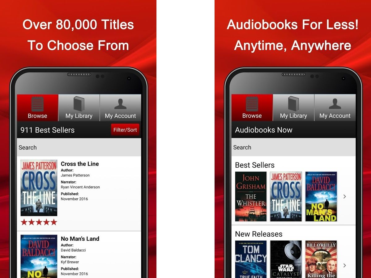 Best Audiobook Apps 2019 - Free & Paid Apps for Android, iOS
